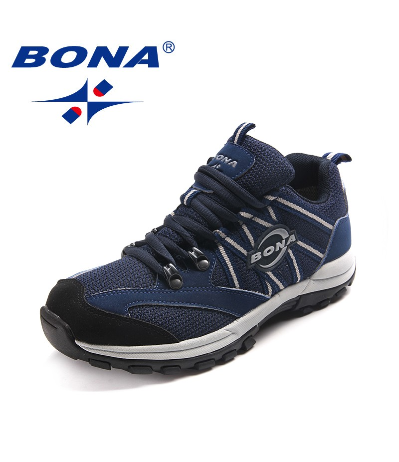 BONA New Classics Style Women Hiking Shoes Lace Up Women Sport Shoes Outdoor Jogging Sneakers Comfortable Soft Free Shipping