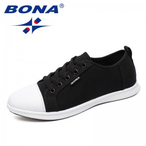 BONA New Arrival Classics Style Women Walkng Shoes Lace Up Women Shoes Outdoor Jogging Sneakers Comfortable Women Canvas Shoes
