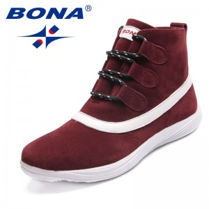 BONA New Arrival Classics Style Women Walking Shoes Lace Up Women Sport Shoes Outdoor Jogging Sneakers Light Fast Free Shipping