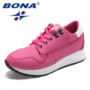 BONA New Arrival Classics Style Women Walking Shoes Leather Women Athletic Shoes Outdoor Jogging Sneakers Fast Free Shipping