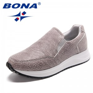 BONA New Arrival Classics Style Women Running Shoes Outdoor Physical Exercise Jogging Sneakers Lace Up Women Sport Shoes