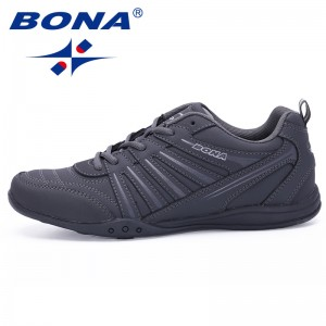 BONA Chinese Shoes manufacture  Men Running Shoes Outdoor Walking Jogging Shoes Lace Up Sport Shoes Comfortable Athletic Shoes