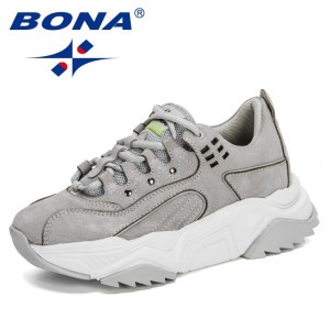 BONA 2020 New Designers Running Shoes Sport Shoes Ladies Athletic Shoes Sneakers Women Walking Jogging Footwear Zapatos De Mujer
