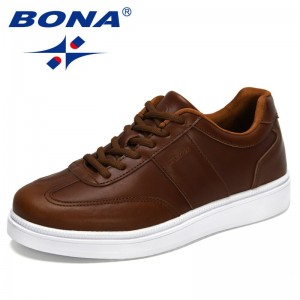 BONA 2021 New Designers Luxury Sneakers Trending Men Casual Shoes Hot Sale Breathable Chunky Shoes Man Comfy Zapatillas Hombre