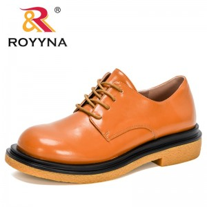 BONA 2021 New Designers British Style Oxford Shoes Women Casual Lace Up Work Dress Shoes Female Zapatos Mujer Ladies Footwear