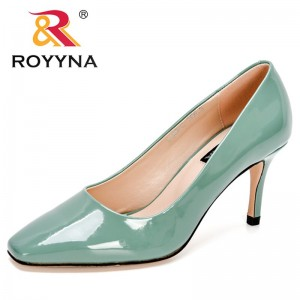ROYYNA 2021 New Designers Stiletto Pumps Women Fashion Casual Wedding Party Shoes Ladies High Heels Office Dress Shoes Feminimo
