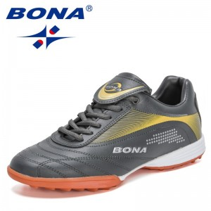 BONA 2021 New Designers Football Boots Men Professional Football Sneakers Male Sports Trainers Athletic Shoes Mansculino Soccer