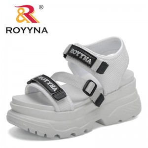 ROYYNA 2021 New Designers Sexy Open-toed Sport Sandals Women Hollow Sandals Outdoor Cool Platform Shoes Beach Sandals Feminimo