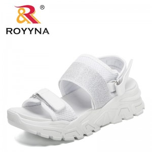 ROYYNA 2021 New Designers Hot Sale Summer Student Female Sandals Casual Sandals Women Thick Flat Sandals Feminimo Sport Sandals