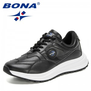 BONA New Designers Trendy Chunky Sneakers Women Fashion Platform Thick Sole Casual Shoes Woman Walking Vulcanize Shoes Feminimo