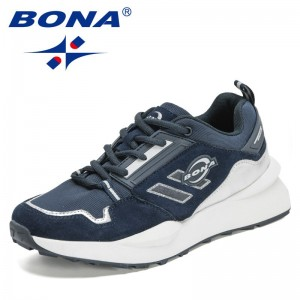 BONA 2021 New Designers Classics Chunky Sneakers Men Street Style Comfortable Adult Male Casual Shoes Leisure Shoes Mansculino