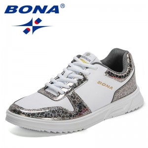 BONA 2021 New Designers Casual Shoes High Quality Men Street Fashion Shoes Man Leisure Footwear Zapatos Casuales De Los Hombres