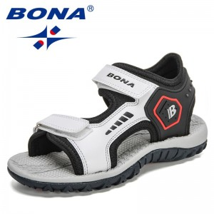 BONA 2021 New Designers Fashion Summer Sandals for Boys Sport Sandals Shoes Teenage Soft Non-Slip Children Shoes Sandalias Comfy