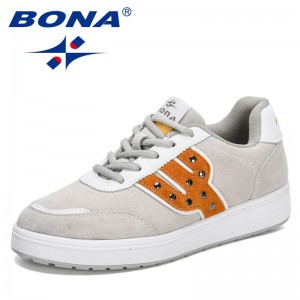 BONA 2021 New Designers High Quality Thick Sole Chunky Platform Sneakers Women Luxury Brand Casual Shoes Lady Zapatos Para Mujer