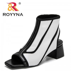 ROYYNA 2021 New Designers Retro Women's Sandals Vintage Boots Casual Rome Fashion Summer Sandals Ladies Summer Shoes Feminimo