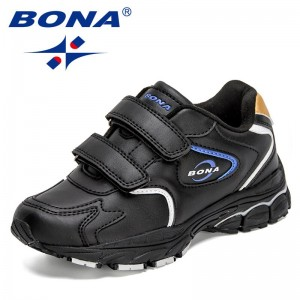 BONA 2021 New Designers Brand Classics Sneakers Kids Casual Sports Shoes Child Running Shoes Jogging Footwear Comfort Chaussure