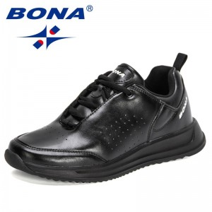 BONA 2021 New Designers Classics Business Casual Shoes Men Soft-Soled Non-Slip Breathable All-Match Leisure Footwear Mansculino
