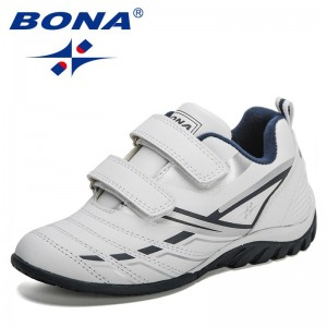 BONA 2021 New Designers Popular Casual Shoes Kids Tenis Sneakers Children Fashion Breathable Shoe Child Walking Shoes Boys Girls