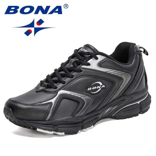 BONA 2021 New Designers Running Shoes Men Breatheable Sport Shoes Fashion Chunky Sneakers Man Walking Shoe Zapatillas De Deporte