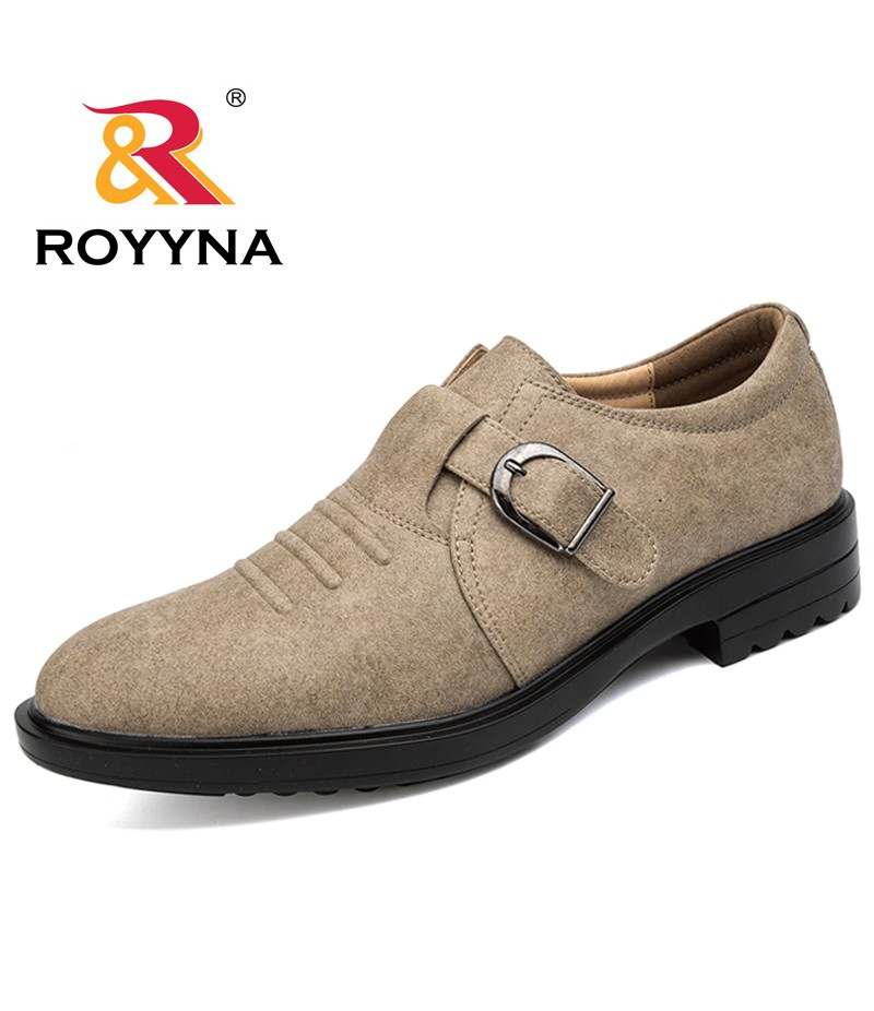 ROYYNA New Classics Style Men Formal Shoes Round Toe Microfiber Men Shoes Hand Made Men Loafers Shoes Comfortable Free Shipping