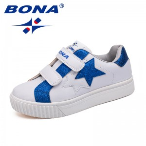BONA New Arrival Typical Style Children Casual Shoes Synthetic Boys Shoes Hook & Loop Girls Shoes Comfortable Fast Free Shipping
