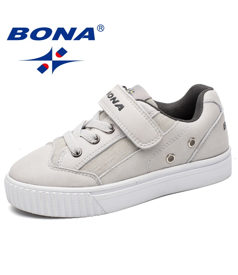 BONA New Classics Style Children Casual Shoes Hook & Loop Boys Shoes Outdoor Jogging Sneakers Comfortable Light Free Shipping