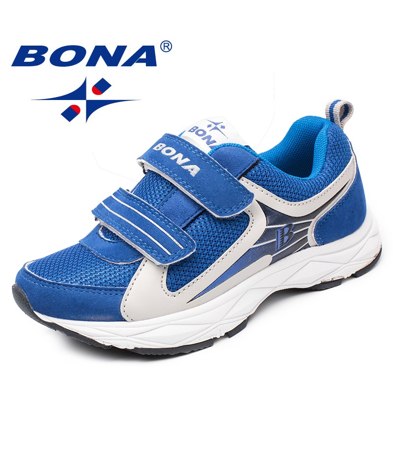 BONA New Popular Style Children Casual Shoes Hook & Loop Girls Shoes Mesh Boys Loafers Outdoor Fashion Sneakers Free Shipping