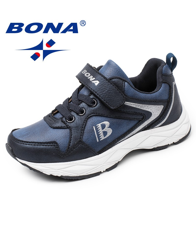 BONA New Typical Style Children Casual Shoes Outdoor Fashion Sneakers Shoes Hook & Loop Boys Loafers Synthetic Girls Flats