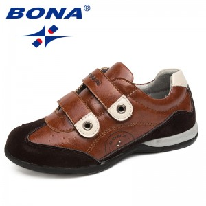 BONA New Fashion Style Children Shoes Brand Kids Shoes Outdoor Walking Shoes Boy School Shoes Comfortable Fast Free Shipping
