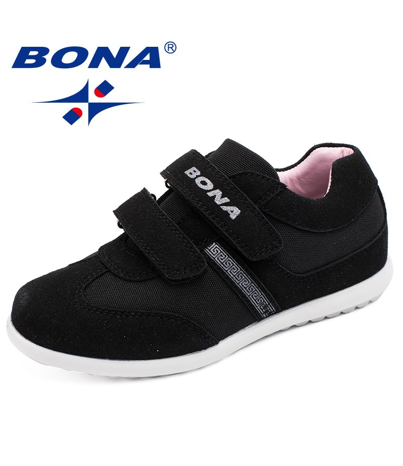 BONA New Typical Style Children Casual Shoes Hook & Loop Boys Sneakers Outdoor Jogging Shoes Kids Comfortable Free Fast Shipping