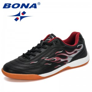 BONA 2019 New Designer Fashion Style Soccer Boots Men Athletic Shoes Training Football Sneakers Man Outdoor Jooging Footwear