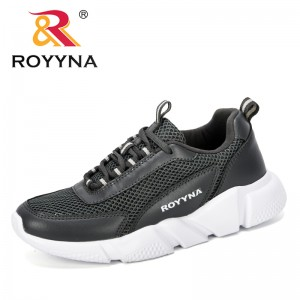 ROYYNA 2019 New Designer Popular Casual Ladies Shoes Woman Lace-Up Mesh Breathable Sneakers Zapatillas Mujer Outdoor Footwear