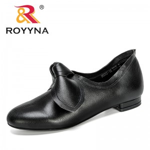 ROYYNA 2020 New Designers Popular Style Office Shoes Woman Fashion Pumps Women Lower Heels Non-slip Ladies Wedding Shoes Comfy