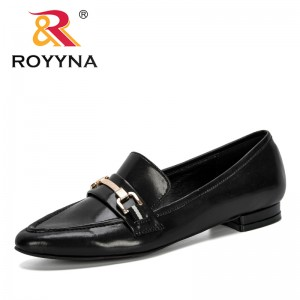 ROYYNA 2020 New Designers Microfiber Popular Women Shoes Pointed Toe Pumps Woman Dress Heels Boat Wedding Shoes Zapatos Mujer