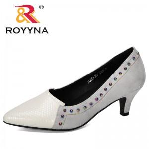 BONA 2019 New Designer Popular Style Women Pumps Shallow Women Heels Rivet Shoes Bowtie Working Shoes Feminimo Wedding Shoes
