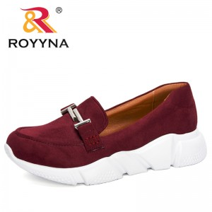ROYYNA 2020 New Designers Student Shoes Flat Shoes Women Outdoor Working Shoes Woman Sneakers Slip-On Tenis Feminino Comfortable