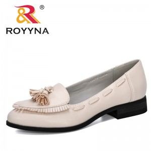 ROYYNA 2020 New Designers Microfiber Lower Heels Dress Shoes Women Fashion Pumps Chunky Heels Woman Comfortable Zapatos Mujer