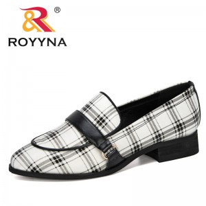 ROYYNA 2020 New Designers Women Shoes Round Toe Lower Heels Dress Working Pumps Woman Comfortable Ladies Wedding Shoes Trendy