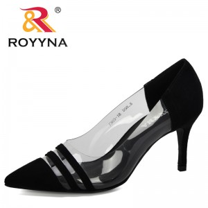 ROYYNA 2020 New Designers Women Shoes Sexy High Heels Stiletto Party Shoes Woman Comfortable Ladies Pumps Sapato Feminino Trendy