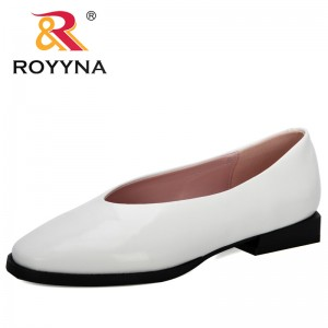 ROYYNA 2020 New Designers Popular Women Shoes Woman Loafers Spring Autumn Flat Shoes Ladies Zapatos Mujer Leisure Footwear Comfy